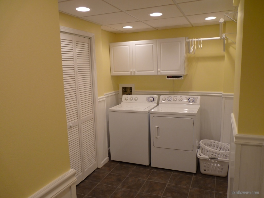Lights Out In The Laundry Room
